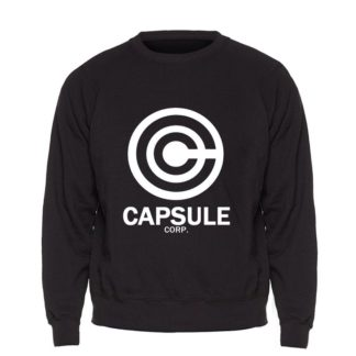 Sweat-Dragon-Ball-Z-Capsule-Corp-Noir