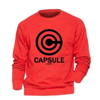 Sweat-Dragon-Ball-Z-Capsule-Corp-Rouge-Noir