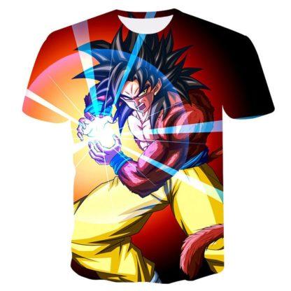 Tee-Shirt-Dragon-Ball-GT-Goku-SSJ4