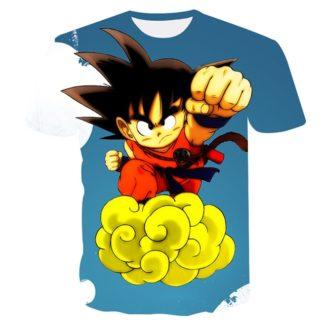 Tee-Shirt-Dragon-Ball-Goku