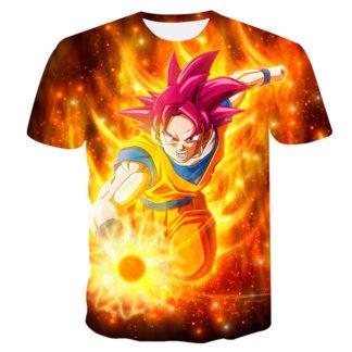 Tee-Shirt-Dragon-Ball-Super-Goku-SSJ-Divin