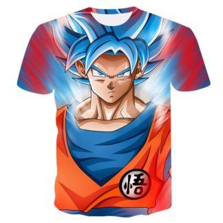 Tee-Shirt-Dragon-Ball-Super-Goku-SSJ-Kanji-Go