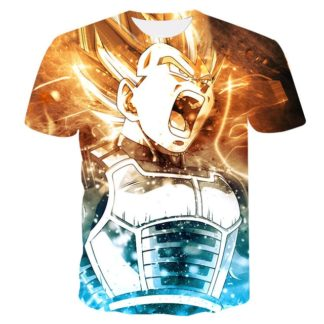 Tee-Shirt-Dragon-Ball-Super-Vegeta
