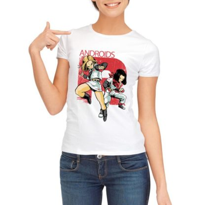 Tee-Shirt-Dragon-Ball-Z-Femme-Androides