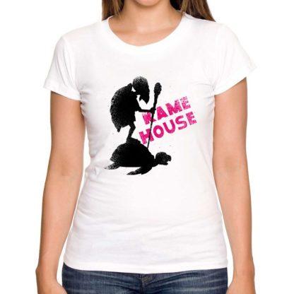 Tee-Shirt-Dragon-Ball-Z-Femme-Kame-House