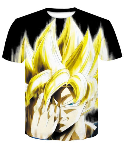 Tee-Shirt-Dragon-Ball-Z-Goku-Teleportation