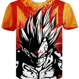 Tee-Shirt-Dragon-Ball-Z-Majin-Vegeta