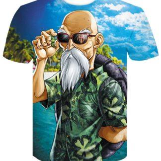 Tee-Shirt-Dragon-Ball-Z-Tortue-Geniale