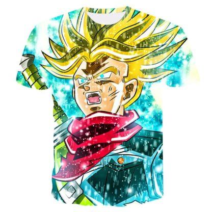 Tee-Shirt-Dragon-Ball-Z-Trunks-Super-Saiyan