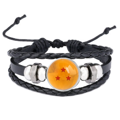 Bracelet-Dragon-Ball-Boule-de-Crystal-3-etoiles