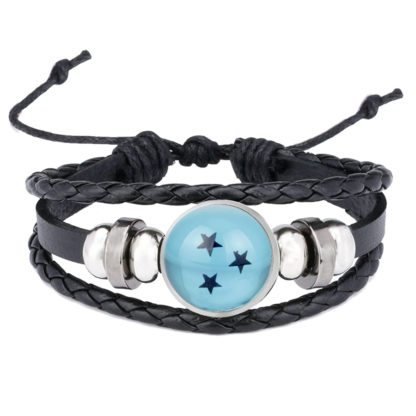 Bracelet-Dragon-Ball-Boule-de-Crystal-bleue-3-etoiles