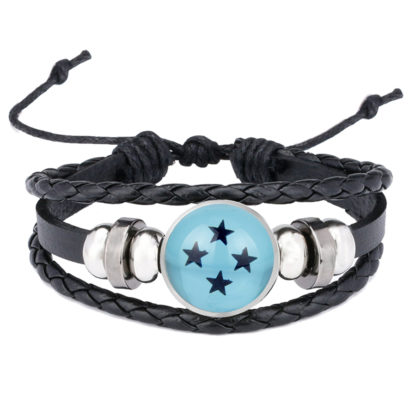 Bracelet-Dragon-Ball-Boule-de-Crystal-bleue-4-etoiles