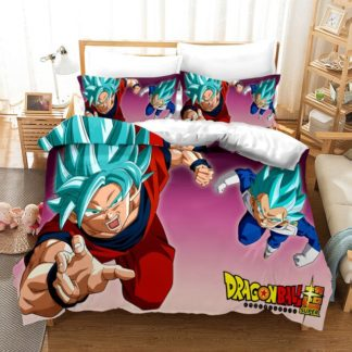 Housse-de-Couette-Dragon-Ball-Super-Goku-Vegeta